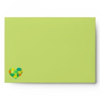Spring goldenrod A7 Envelope zazzle_envelope