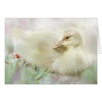 Spring Gosling Card