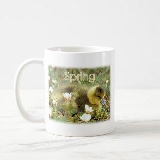 Spring Gosling mug