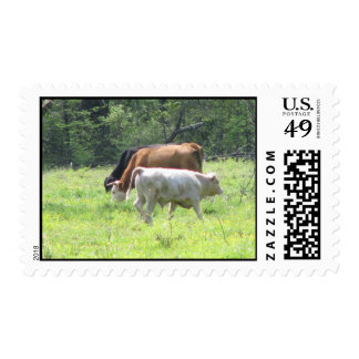 Spring Grazing in Louisiana Postage