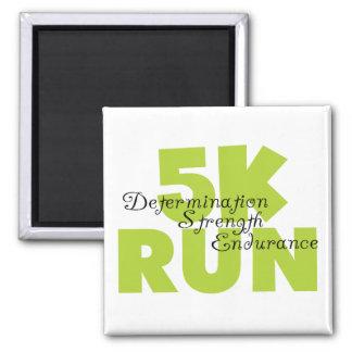 Spring Green 5K Run Refrigerator Magnets