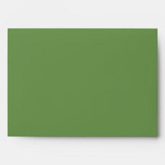 Spring Green 5x7 Envelopes