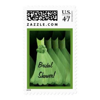 SPRING GREEN Bridal Shower Bridesmaid Dresses Postage