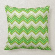 Spring Green {chevron pattern} Pillow
