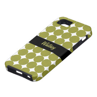 Spring Green Dots iPhone 5 Case-Mate Case