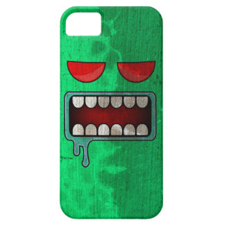 Spring Green Drooling Red-Eyed Monster Face iPhone SE/5/5s Case