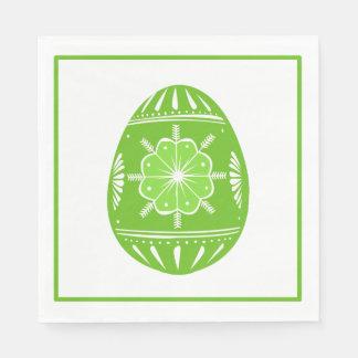 Spring Green Easter Egg Classic Chic Napkin