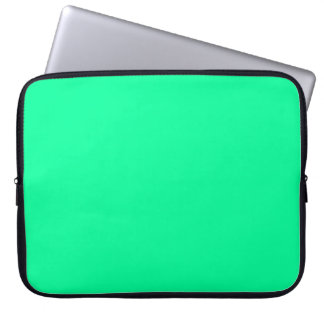 Spring Green Computer Sleeve
