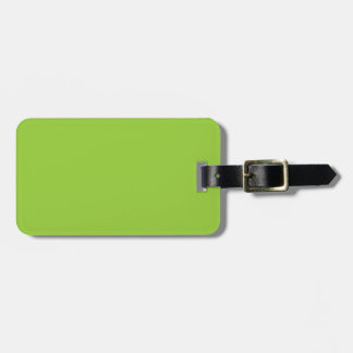 Spring Green - Light Green Template Blank Tag For Luggage