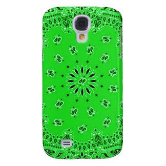 Spring Green Paisley Western Bandana Scarf Print HTC Vivid Cover