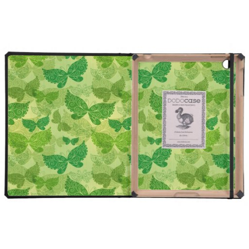 Spring Green Pattern Case For iPad