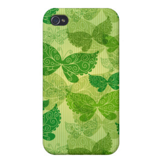 Spring Green Pattern iPhone 4/4S Case