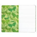 Spring Green Pattern Journal