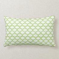 Spring Green Pattern Pillow