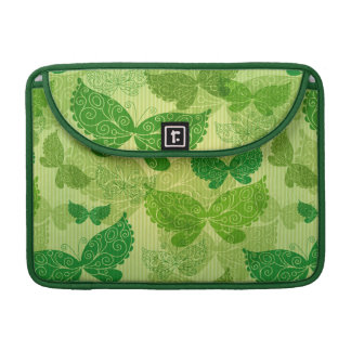 Spring Green Pattern Sleeve For MacBook Pro