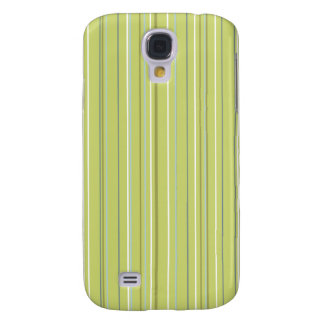 Spring Green Stripe Galaxy S4 Cover