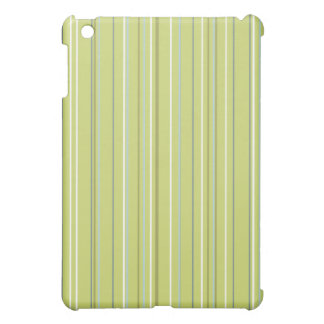 Spring Green Stripe iPad Mini Cases