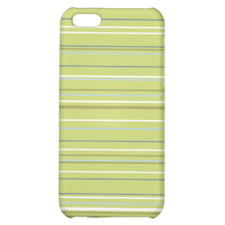 Spring Green Stripe iPhone 5C Cover