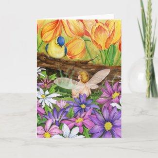 Spring Greetings Card card