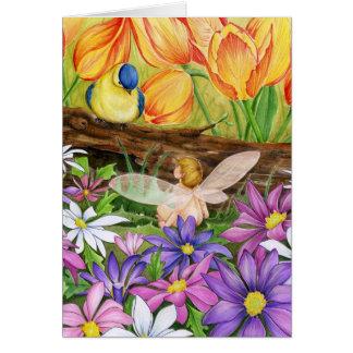 Spring Greetings Card
