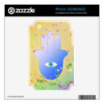 Spring Hand of Fatima Decal For The iPhone 3G