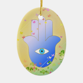 Spring Hand of Fatima Christmas Tree Ornament