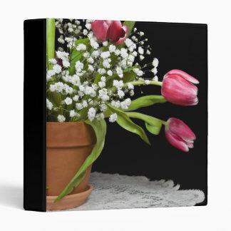 Spring Happiness 3 Ring Binder