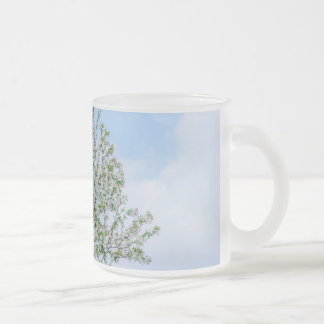 Spring - Happy Easter Frosted Glass Coffee Mug