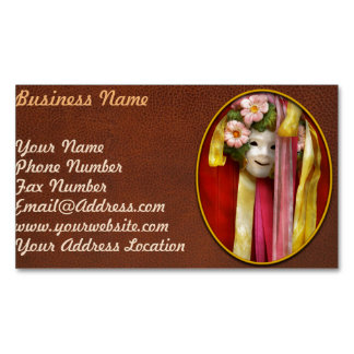 Spring - Harbinger of Spring Business Card Magnet