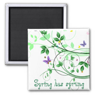 Spring has spring magnets