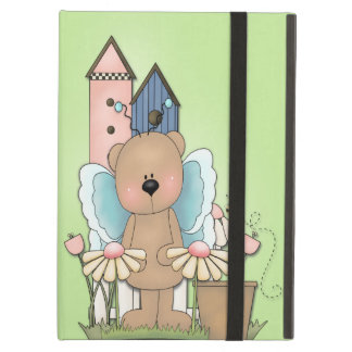 Spring Has Sprung, Adorable Butterfly Bear Cover For iPad Air