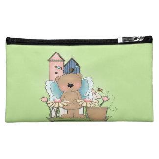Spring Has Sprung, Adorable Butterfly Bear Makeup Bag