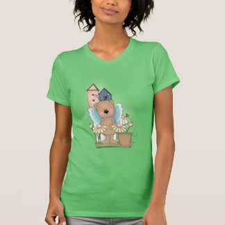 Spring Has Sprung, Adorable Butterfly Bear T-Shirt