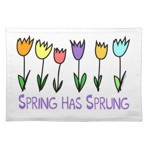 Spring has Sprung Place Mat