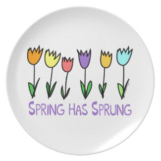 Spring has Sprung Party Plates