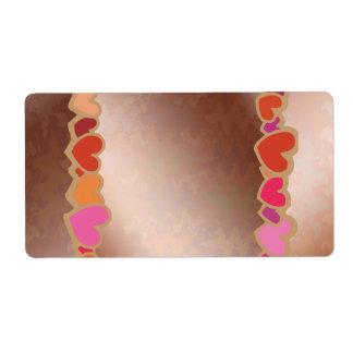 Spring Heart Collection : Artist Designed Pallet Label