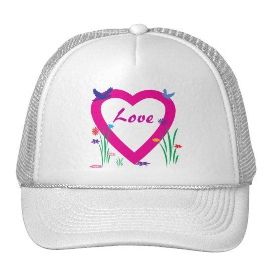 Spring Heart Love Trucker Hat
