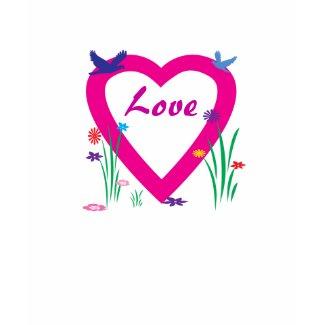 Spring Heart Love shirt