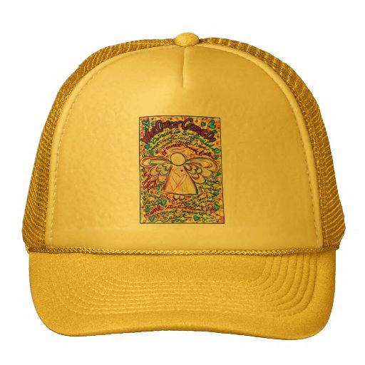 Spring Hearts Angel Trucker Hat