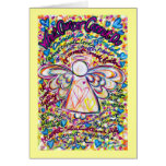 Spring Hearts Cancer Cannot Do Angel Greeting Card