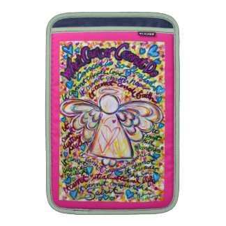Spring Hearts Cancer Cannot Do Angel iPad Sleeve