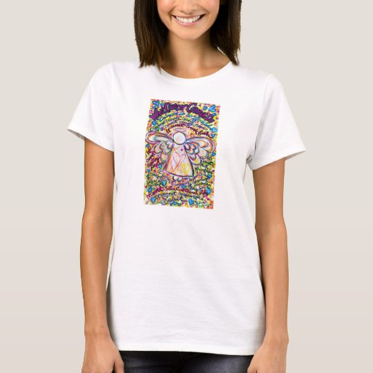 Spring Hearts Cancer Cannot Do Angel T-shirt