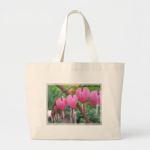 Spring Hearts Canvas Bags