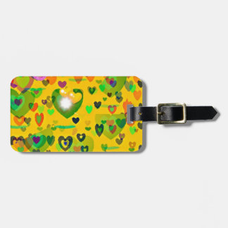 Spring hearts come to life gift collection luggage tag