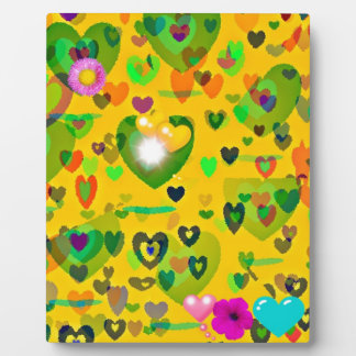 Spring hearts come to life gift collection photo plaques