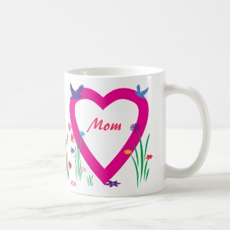 Spring, Hearts, Love Mother's Day Coffee Mug