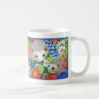Spring Hedgehog Mug
