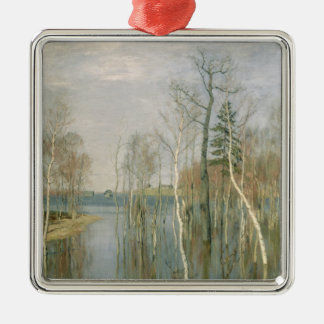 Spring, High Water, 1897 Metal Ornament