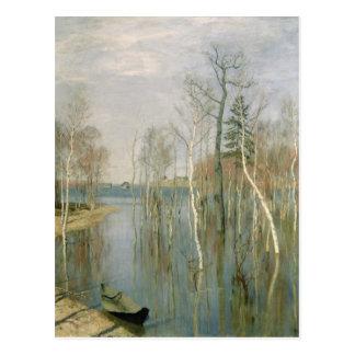 Spring, High Water, 1897 Postcard