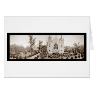 Spring Hill College Photo 1918 Greeting Card